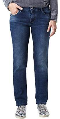 Pioneer Women's Sally Straight Jeans,W33/L32 (Manufacturer size: 42/32)