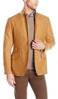 Carlos Campos Men's Single Breasted Suit Jacket