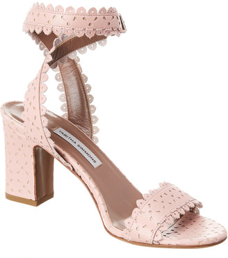 Tabitha Simmons Leticia Perforated Leather Sandal