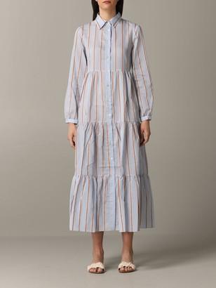 Jucca Long Striped Dress