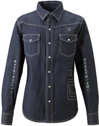 Tokkou Japanese Denim Long-Sleeve Shirt in Blue