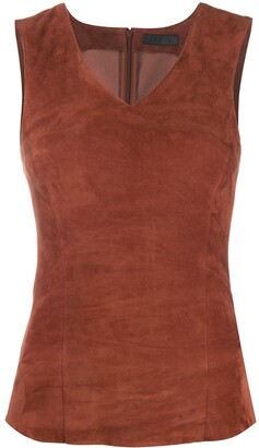 Drome Leather Tank Top