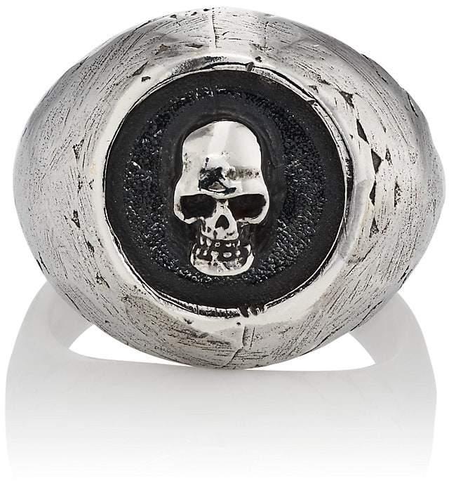 Emanuele Bicocchi Men's Skull Cameo Ring