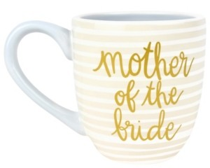 Coton Colors by Laura Johnson Stripe Mother of the Bride Mug