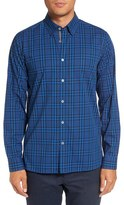 Ted Baker Men's Murcia Extra Slim Fit Plaid Cotton Sport Shirt