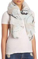 Rag & Bone Palm-Print Cotton Scarf