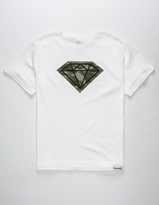 Diamond Supply Co. Camo Rock Boys T-Shirt
