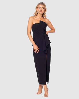 Pilgrim Women's Black Off the Shoulder Dresses - Laylan Gown - Size One Size, 6 at The Iconic