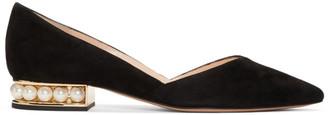 Nicholas Kirkwood Black Casati DOrsay Ballerina Flats