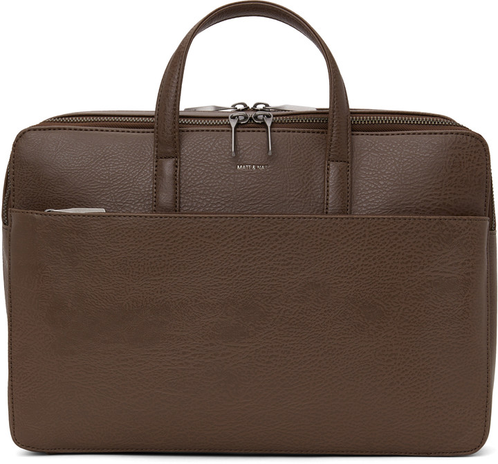 Dwell Matt & NatMatt & Nat TOM Briefcase - Chestnut