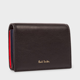 Paul Smith Women's Black 'Concertina' Leather Card Holder