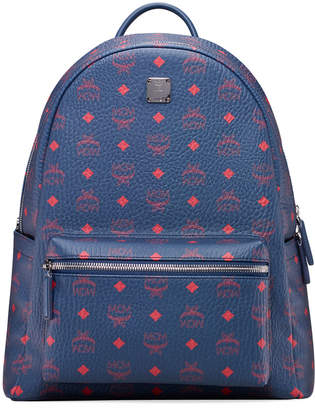 MCM Men's Stark 40 Visetos Coated Canvas Backpack