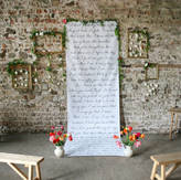 Modo creative Personalised 'Your Special Words' Backdrop