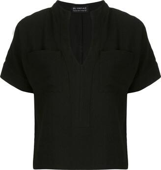 Olympiah Maggiolina pockets blouse