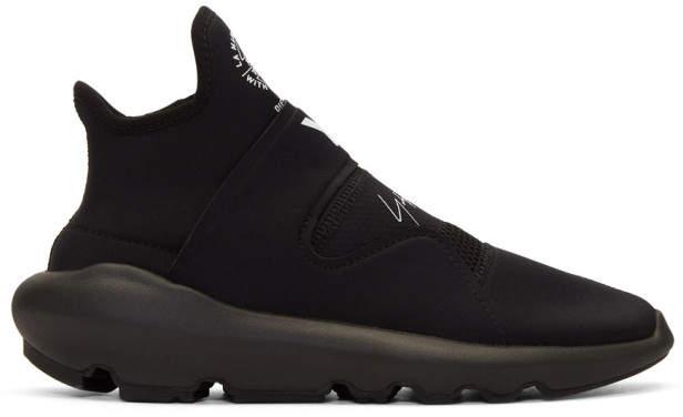 Y-3 Black Suberou Slip-On Sneakers