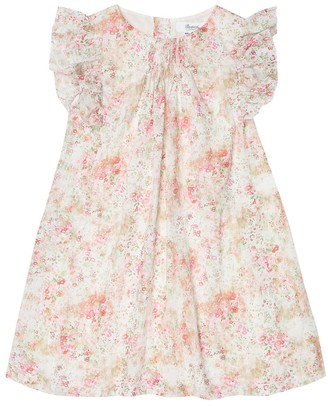 Bonpoint Lunea floral cotton dress