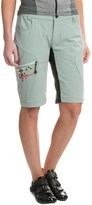 Qloom Seal Rock Biking Shorts - Removable Liner (For Women)