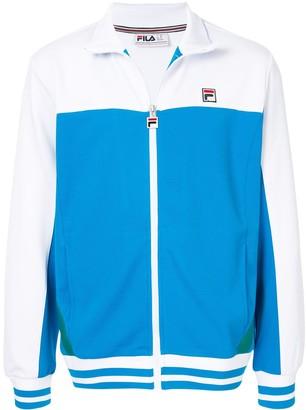 Fila Logo Embroidered Track Jacket