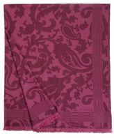 Etro Agdal Paisley-Patterned Wool Throw Blanket