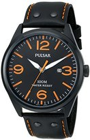 Pulsar Women's PH9027X Everyday Value Analog Display Japanese Quartz Black Watch