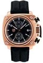 Andrew Marc Men's A10103TP Heritage Cargo 3 Hand Chronograph Watch