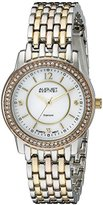 August Steiner Women's AS8027TRI Swiss Quartz Two-Tone Watch