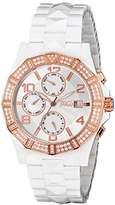 Jivago Women's JV0420 Prexy Analog Display Swiss Quartz White Watch