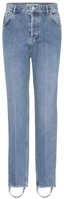 Balenciaga Exclusive to mytheresa.com High-rise stirrup jeans
