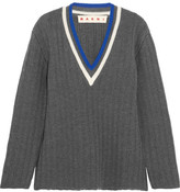 Marni Wool-blend Sweater - Gray