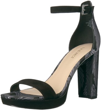Nine West Women's Dempsey FABIC Heeled Sandal