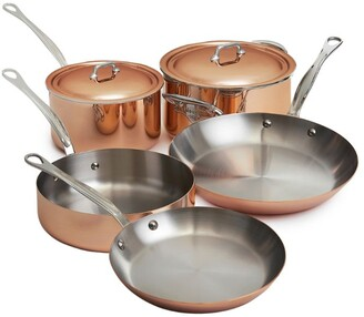 Mauviel Copper 5-Piece Saucepan Set