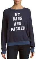 Wildfox Couture Bags Are Packed Sweater