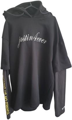Vetements Black Cotton Knitwear & Sweatshirts