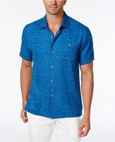 Tommy Bahama Men's Diamond Lines 100% Silk Shirt, a Macy's Exclusive