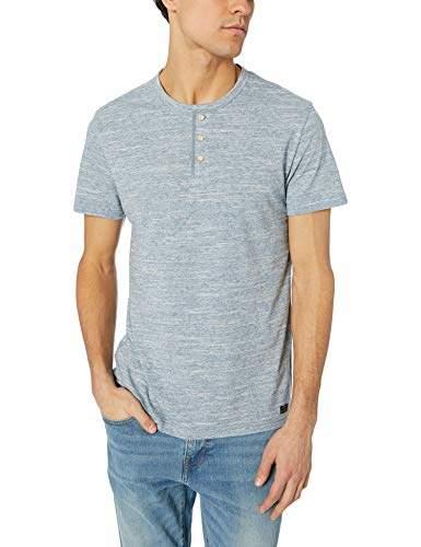 fd65360ac Lucky Brand Blue Henley Men's Shirts - ShopStyle