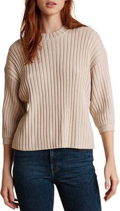 Velvet Kyana Engineered Stitches Sweater