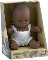 Miniland Baby Doll African Girl, 21 cm