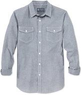 American Rag Men's Pick-Stitch Long-Sleeve Shirt, Only at Macy's