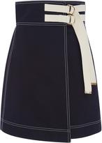 Marni Wrap Effect Mini Skirt