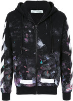 Off-White Diag Galaxy hoodie