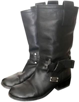 Marc by Marc Jacobs \N Black Leather Ankle boots