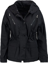 J Brand Carmel shell hooded jacket