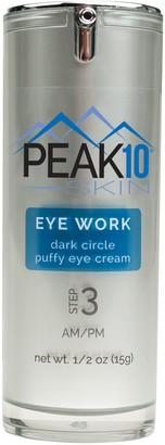 PEAK 10 SKIN EYE WORK Dark Circle Puffy Eye Cream