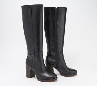 Franco Sarto Wide Calf Leather Tall Shaft Boots - Kendra