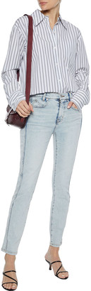 Current/Elliott The 7-pocket Cropped Mid-rise Skinny Jeans