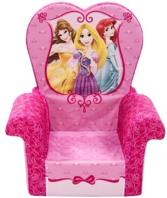 Marshmallow Furniture Marshmallow Furniture, Children's Foam High Back Chair, Disney Princess, by Spin Master