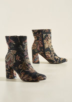 Poetic Licence What Comes to Stride? Boot in Tapestry