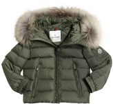 Moncler Byron Hooded Nylon Down Jacket