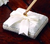 Beverly Clark 223CI Chantilly Lace Pen Holder in Ivory