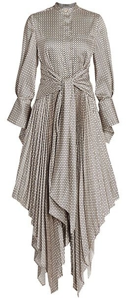 Acler Chase Handkerchief Shirtdress